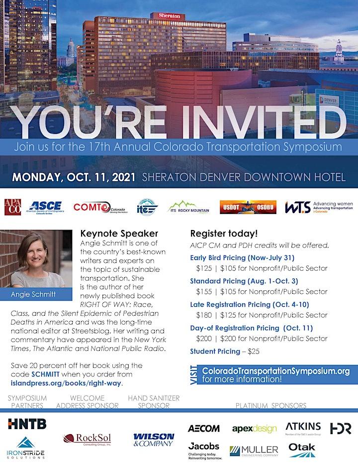 17th Annual Colorado Transportation Symposium image