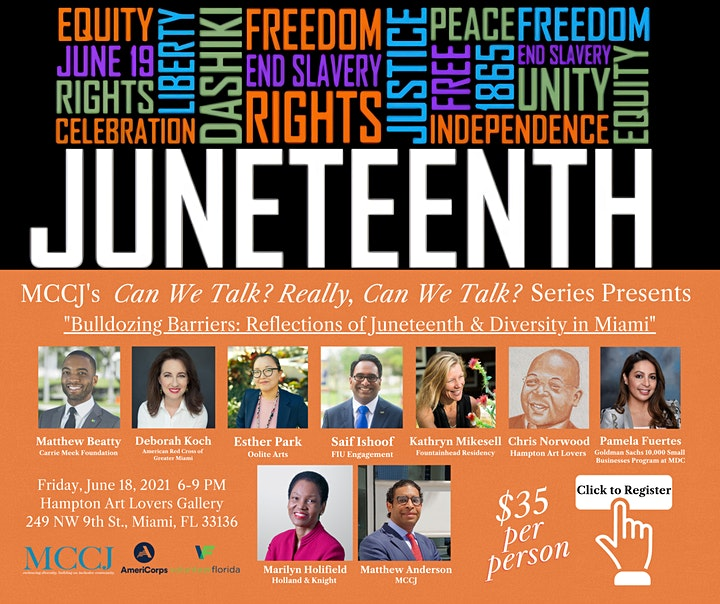 Bulldozing Barriers:  Reflections of Juneteenth and Diversity in Miami image