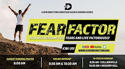 """New D """"Fear Factor"""" Series Hickory Hill Campus tickets"""
