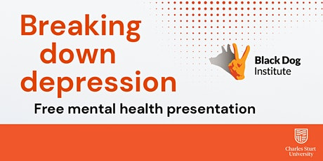 Breaking down depression and building resilience tickets