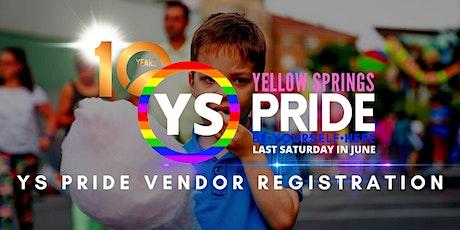 YS Pride Vendor Registration tickets