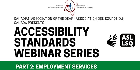 Accessibility Standards  Part 2 tickets