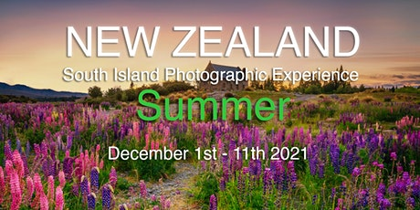 New Zealand, South Island Photographic Experience - Summer 2021 tickets