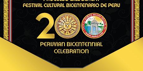 Peruvian Bicentennial Gala tickets