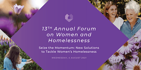 2021 Annual Forum on Women and Homelessness tickets