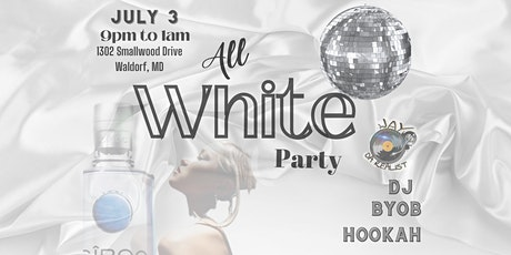 All White Party — Celebrate with a Bang! tickets
