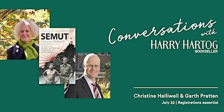 Christine Helliwell In Conversation with Garth Pratten tickets