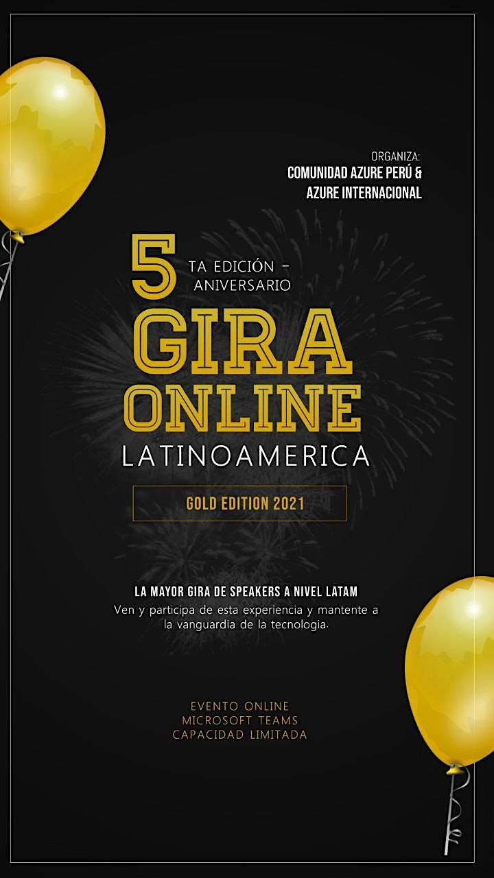 Imagen de GIRA ONLINE SPEAKERS  LATAM 2021-GOLD EDITION