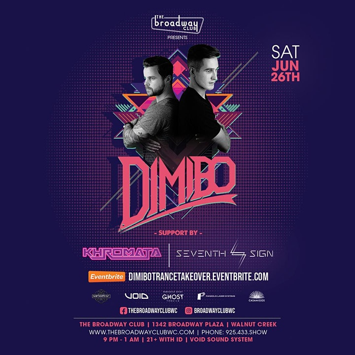 Trance Takeover: Special Guest Dimibo w/ Khromata & Seventh Sign image