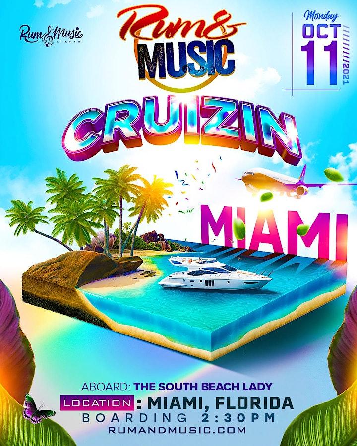 """Rum and Music """"Cruizin"""" Miami Beach image"""