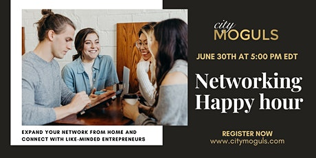 Monthly Networking Happy Hour for Entrepreneurs tickets
