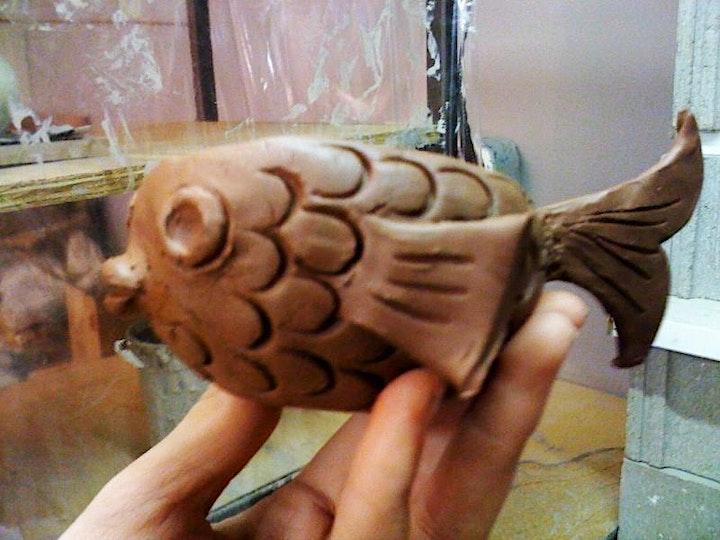 Animals in Clay - Saturdays, Oct. 2 - Oct. 23 image
