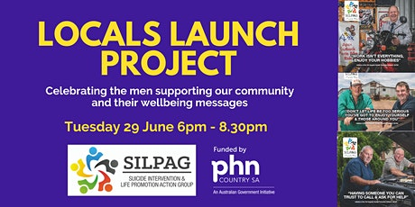 SILPAG Locals Launch Project featuring guest speaker, Nathan Bolton tickets