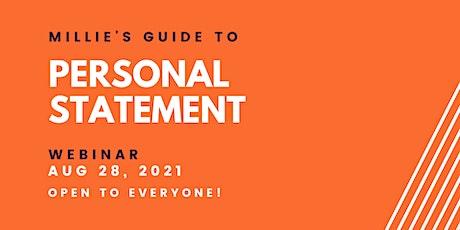 WEBINAR | Millie's Guide to Personal Statement biglietti