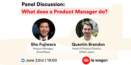 What does a Product Manager do? - Panel Discussion tickets