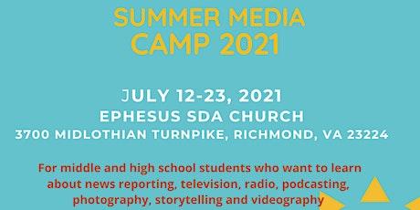 BND Summer Media Camp  2021 tickets
