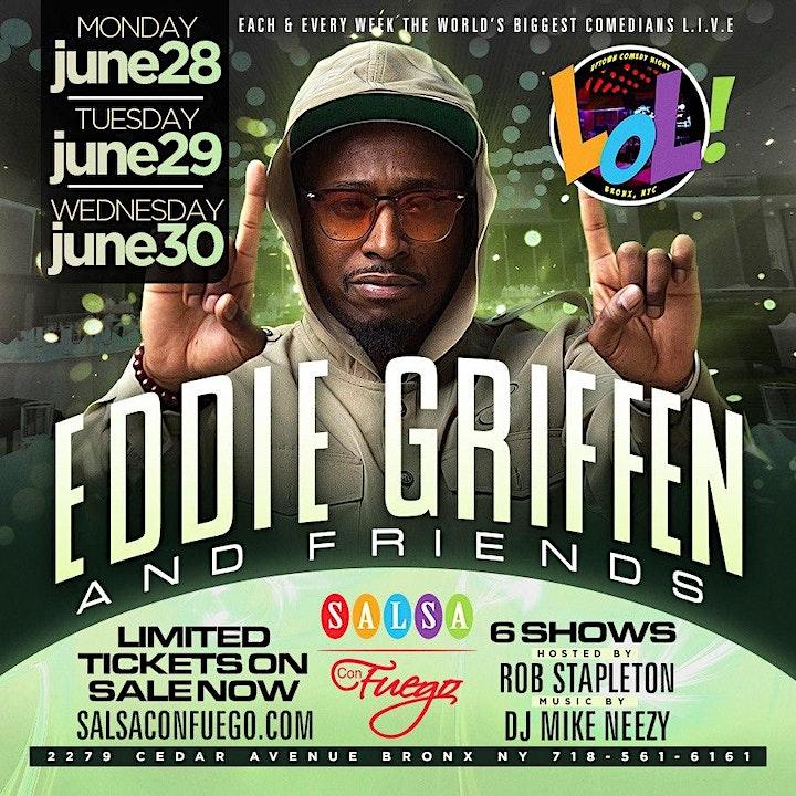 Legend Eddie Griffin Live (6PM) Monday Show image