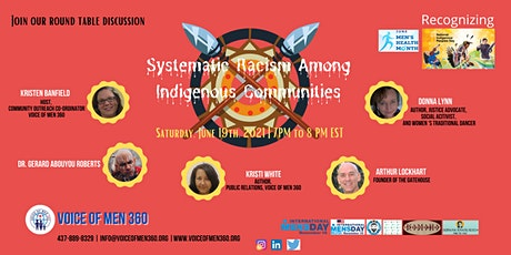 Systematic Racism Among Indigenous Communities tickets