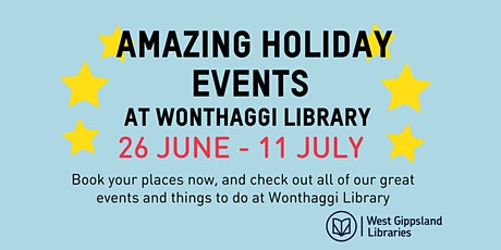 Paper Planes School Holiday Activity @ Wonthaggi Library tickets