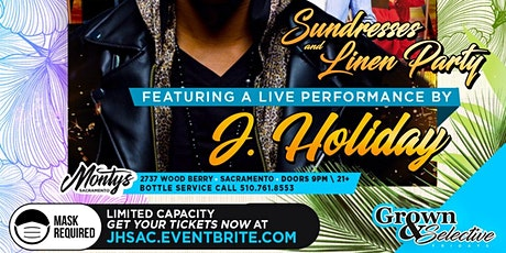 J Holiday Performing Live tickets