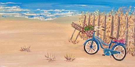 """""""THE BLUE BICYCLE"""" PaintNight June 23rd 6:00-9:00 PM tickets"""