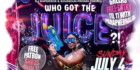 Who Got The Juice Foam Party tickets