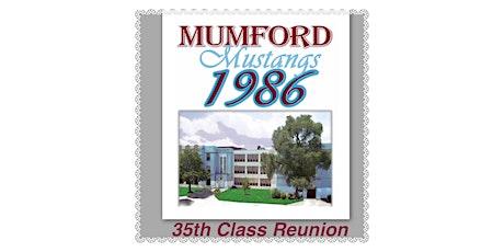 Mumford Class of 86 Celebrating 35 year Reunion tickets