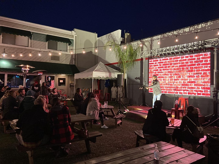 Comedy Night in the Beer Garden with David Coker & Alex Woody image