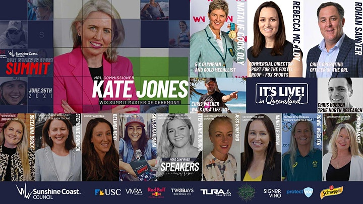Ministry of Sport & Sunshine Coast Council present Women in Sport Summit image