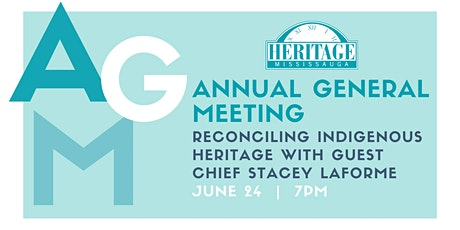 Heritage Mississauga AGM tickets