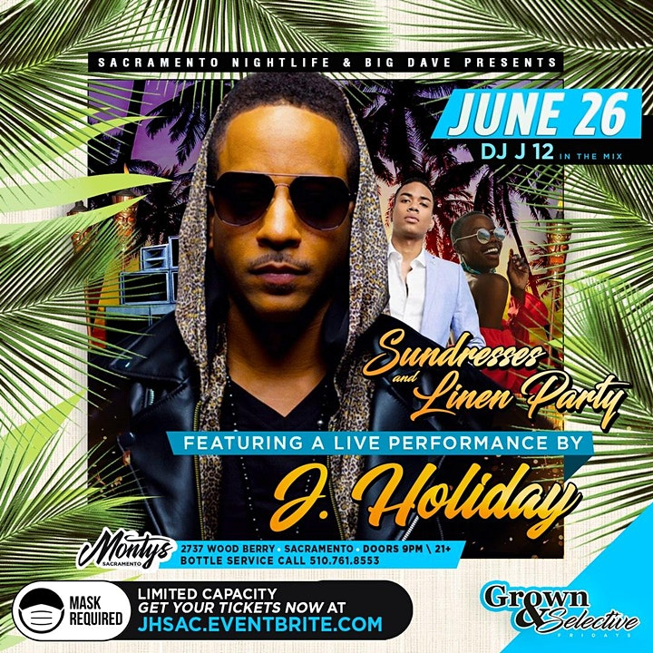 J Holiday Performing Live image