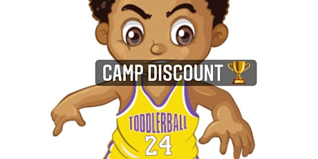 TODDLERBALL SUMMER CAMP WEEK 1 (BOYS AND GIRLS AGES 4-8) tickets