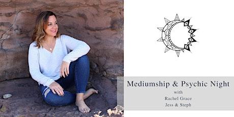 Mediumship & Psychic Night with Rachel Grace, Jess & Steph tickets