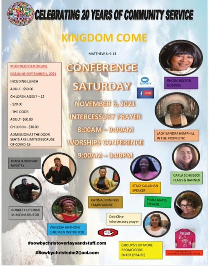 KINGDOM COME CONFERENCE image