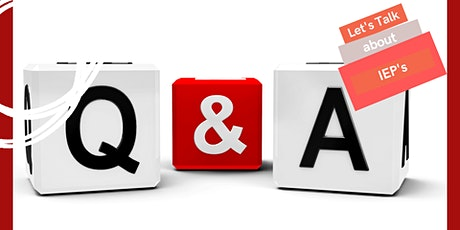 Q & A: Let's talk about IEP's tickets
