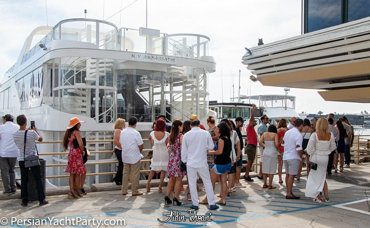 Persian Halloween Yacht Party (Newport Beach) image