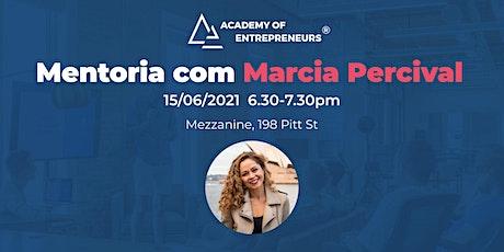 Mentoria com Marcia Percival tickets