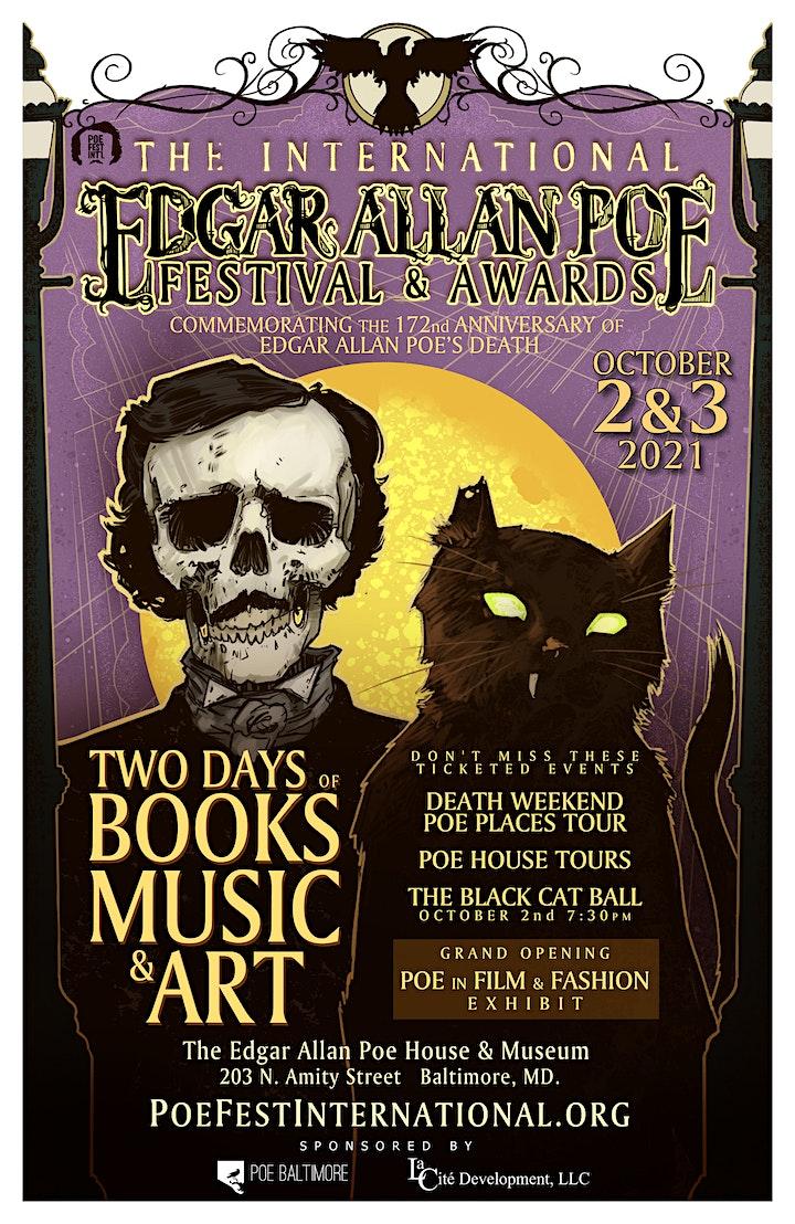 VIRTUAL FESTIVAL PASS, 2021 International Edgar Allan Poe Festival & Awards image