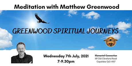 Meditation with Matthew Greenwood tickets