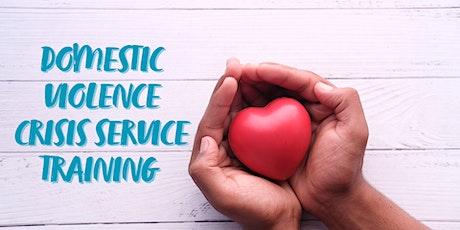 Domestic Violence Crisis Service Training tickets