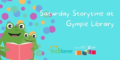 Saturday Storytime at Gympie Library tickets