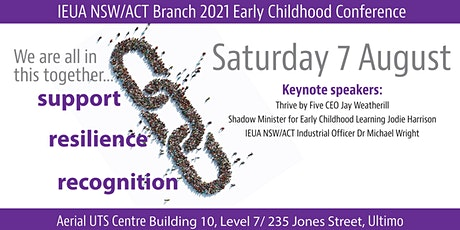 IEU 2021 Early Childhood Conference - We are all in this together tickets