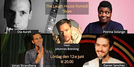 The Laugh House Ståupp Komedi  12:e jun tickets