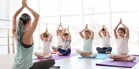 Kids Yoga_ 6 -12 years_ School Holidays tickets