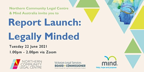 Legally Minded: Report Launch tickets