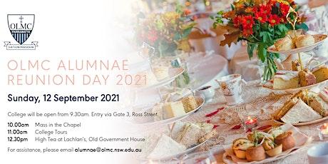 2021 OLMC  Alumnae Reunion Day - High Tea tickets