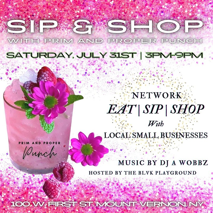 Sip & Shop With Prim And Proper Punch image