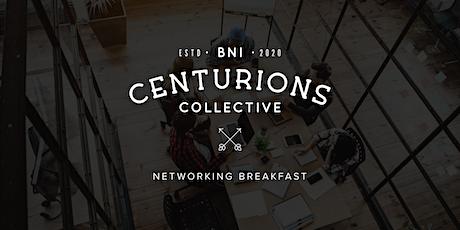 BNI Centurions Networking Breakfast tickets