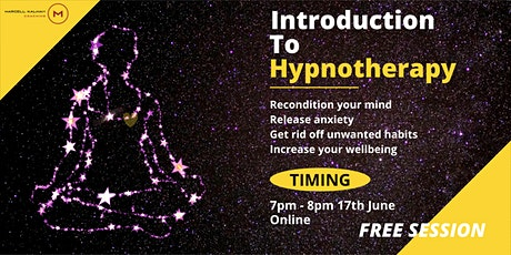 Introduction To Hypnotherapy tickets