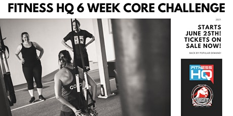 Fitness HQ 2021 Core Challenge tickets
